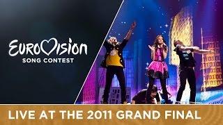 Getter Jaani - Rockefeller Street (Estonia) Live 2011 Eurovision Song Contest