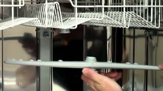 How to clean and replace Dishwasher Spray Arms