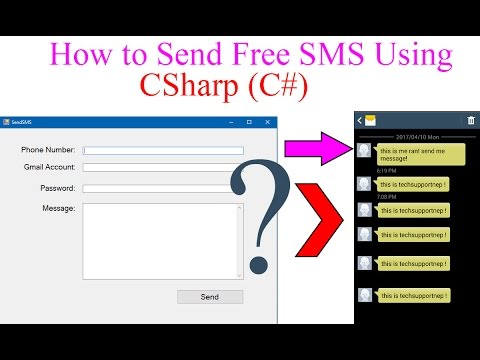 How to Send Free SMS Using C#?[With Source Code]
