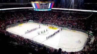 ЧМ 2014. Стадион поет гимн России. Смотреть всем!