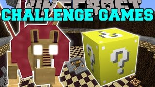 Minecraft: MANTICORE CHALLENGE GAMES - Lucky Block Mod - Modded Mini-Game
