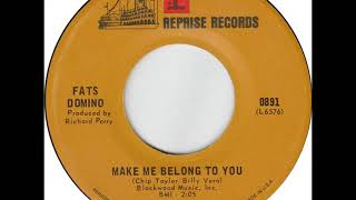 Fats Domino - Make Me Belong To You - early June, 1968