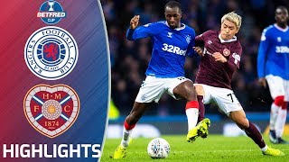 Rangers v Hearts | 2019/20 Betfred Cup Semi-Final | Betfred Cup