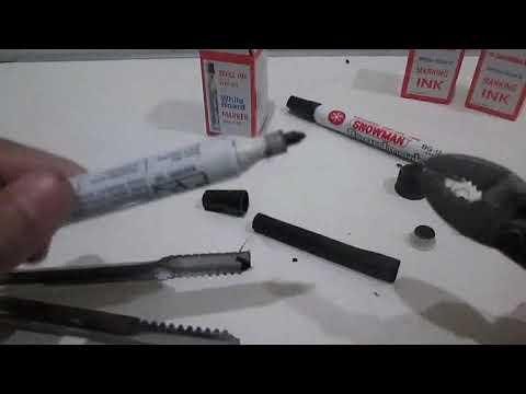 Cara Memperbaiki Spidol (Board Marker) yang Rusak
