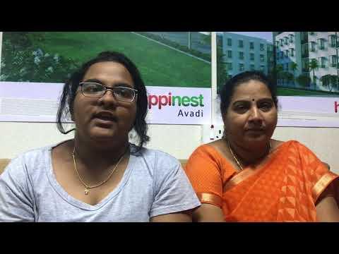 Mahindra Happinest Avadi - Ms. Bernath Virginia's Testimony