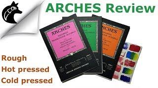 Comparison Arches Watercolor Paper