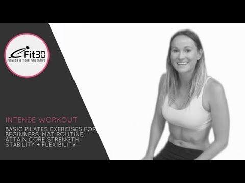 eFit30 - 30λεπτο πρόγραμμα εκγύμνασης Pilates για αρχάριους