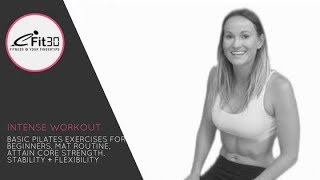 Dynamic Pilates 30 Minute Beginner Workout by eFit30