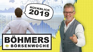 Börse: Jahresrückblick 2019