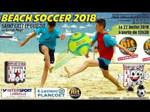 Beach Soccer 2018 St Cast Le Guido: Du foot à la grande plage