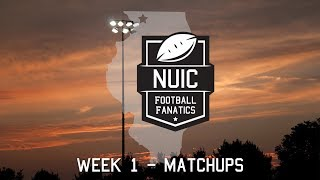 Week 1 - Matchups