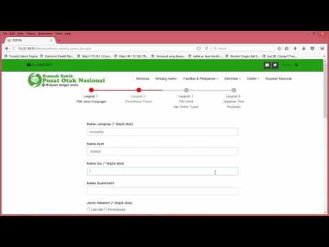 Langkah Langkah Pendaftaran Rawat Jalan Online Melalui Website RSPON