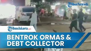 13 Orang Diamankan Polisi seusai Bentrok antara Ormas dengan Debt Collector di Tangerang