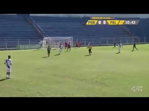 Assistência | LUCAS ESTEVES | 22.09.2018 - Paulista Sub-20 | Palmeiras 2 x 0 Ponte Preta