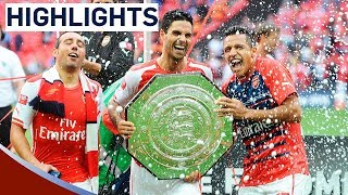 Arsenal 30 Manchester City  Community Shield 2014  Goals & Highlights