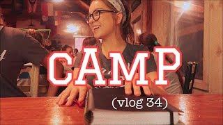 первый день в лагере (vlog 34) | Polina Sladkova