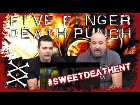 Five Finger Death Punch - Blue On Black Review And Commentary By AJ Motts And RJ Stone - Sweet Death Entertainment