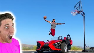 Chris Staples DUNKED Over My SPORTS CAR!