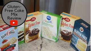 Gluten Free Cake Mix Review