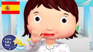 Canciones Infantiles | Lavarse los Dientes | P.3 | Dibujos Animados | Little Baby Bum en Español