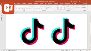 Gambar cover How to create TikTok logo in Microsoft PowerPoint (Tutorial)