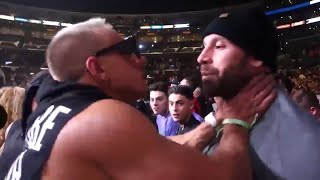 Vitaly & Bradley Martyn Fight at KSI vs Logan Paul 2