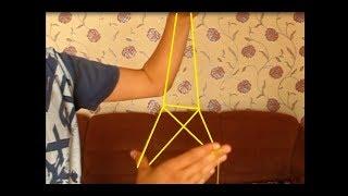Как сделать из шнурка эльфивую башню