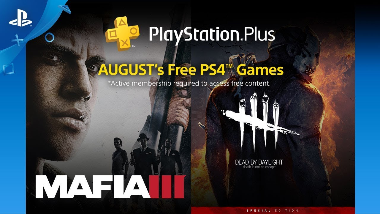 PlayStation Plus: Juegos Gratis para agosto de 2018