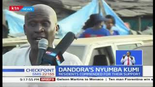 Police commend Dandora residents for their support