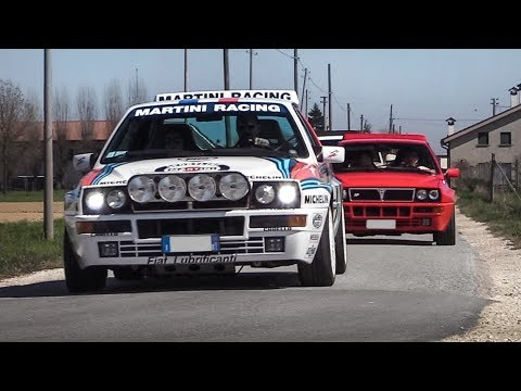 WRCTeam.it Meeting 2019 - Celica ST185 Sainz, Delta Integrale, Lancer Evo 6 TME, Clio Maxi Turbo!