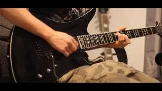 #DEATHBATGAMECONTEST [Wicked End Theme] Dual Guitar Cover.