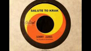 SONNY JAMES Tribute to KRAK Radio and Sacramento (1967)