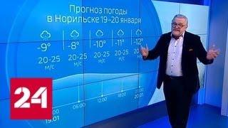 """""""Погода 24"""": насколько страшны нынешние крещенские морозы - Россия 24"""