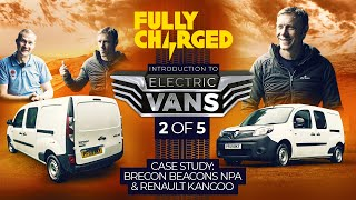Introduction to ELECTRIC VANS episode 2/5  incl. Renault's Kangoo | 100% Independent, 100% Electric