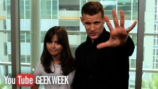 Дженна Коулман, Doctor Who's Matt Smith & Jenna Coleman: 10 Whovian Facts You Need to Know (5-1) GEEK WEEK