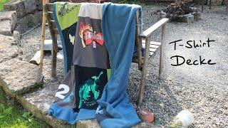 Bastelecke: T-Shirt Decke