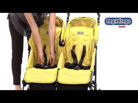 Peg Perego Pliko Mini Twin коляска для двойни