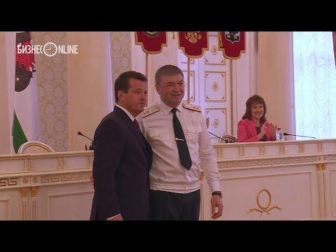 Пучков наградил Метшина медалью МЧС России «За содружество во имя спасения»