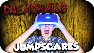 MOST SCARED EVER!! | DreadHalls | Jumpscare Reactions ( Playstation VR Horror Game ) ( PSVR )