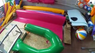 Изготовление лодок из пхв