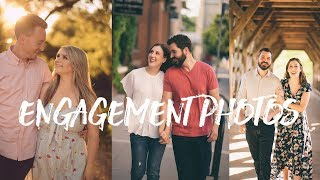 Photographing Engagement Sessions - Wedding Photography