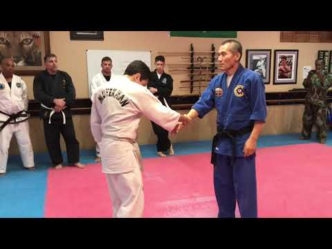 Hapkido street fighting defense techniques