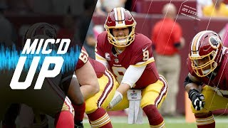 """Kirk Cousins Mic'd Up vs. 49ers """"We Got to Get Some Mojo Going""""   NFL Films   Sound FX"""