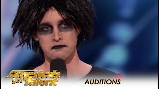 Oliver Graves: This UNIQUE Comedian Will Make You Laugh or Cry! | America's Got Talent 2018