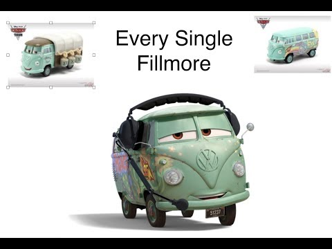 Every Single Disney Cars Fillmore Diecast Variant