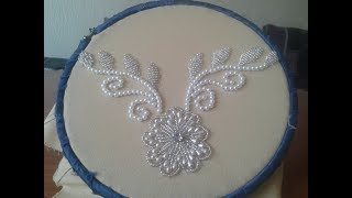 Embroidery Beautiful Rose Beads