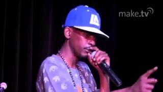 Kurupt Performs at the LA Recording School Open House