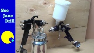 Beginner Tutorial How to Set Up and Use a Paint Spray Gun