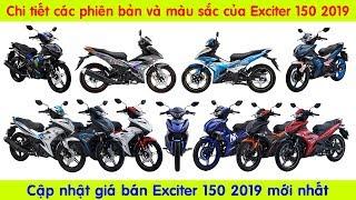 Tất cả các phiên bản và màu sắc của Exciter 2019 (All versions and colors of EXCITER 2019) 🔴 TOP 5