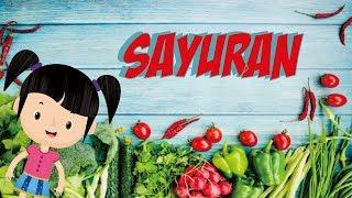 Belajar Membaca Nama Sayur-sayuran Bagian 2 | Bunbun Learning Vegetables